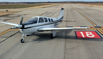 Beechcraft G36 TKS Ice Protection System